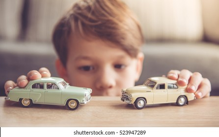 Kid On Toy Car Stock Photos Images Photography Shutterstock