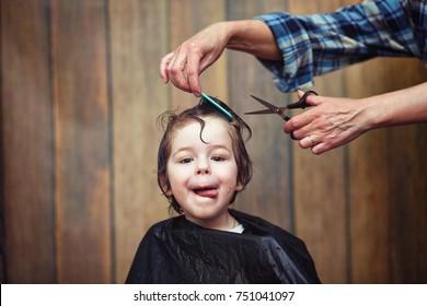 Kids Haircut Images Stock Photos Vectors Shutterstock