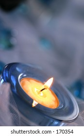little candle for aromatherapy - vertical