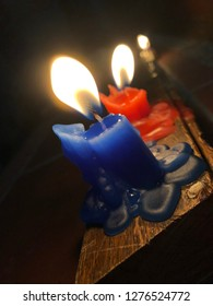 Little candles day. Colombian Holliday.