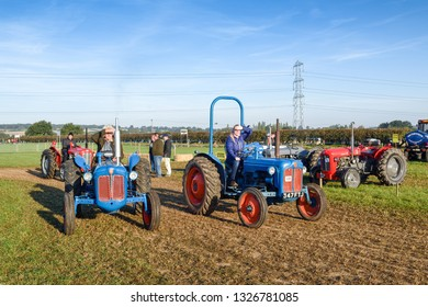 Little Carlton,Nottinghamshire,UK:  September 29th 2018. Southwell ploughing match is the largest agricultural one day show in Nottinghamshire. Many competitions take place during the day.