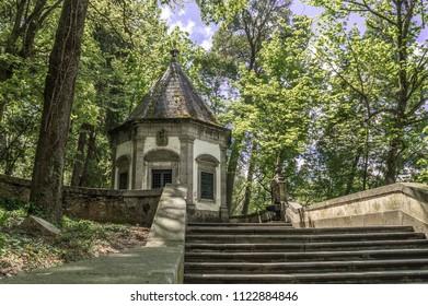 Little chapel at 'Bom Jesus do Monte' Sanctuary