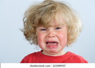 little child is crying