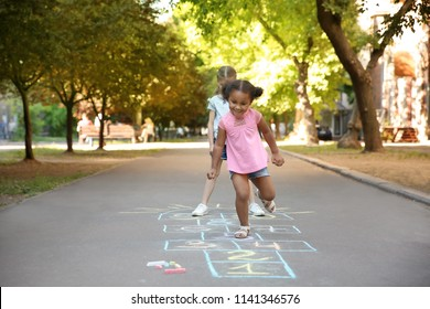 Hopscotch Images, Stock Photos & Vectors | Shutterstock