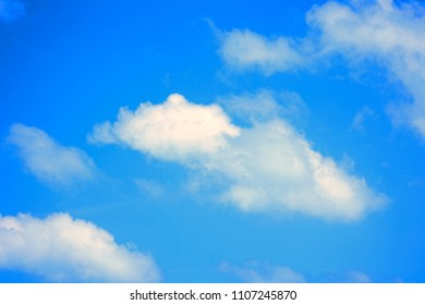 Little clouds in the sky