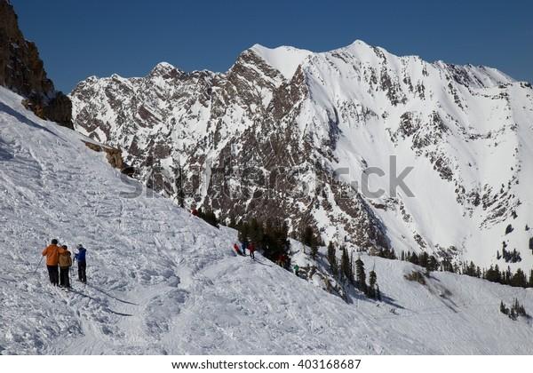 Little Cottonwood Canyon Skiing, Utah