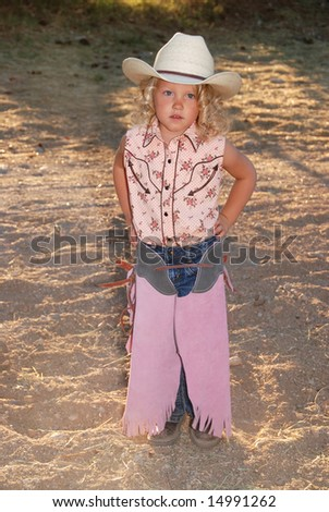 0a4209d75 Little Cowgirl Stock Photo (Edit Now) 14991262 - Shutterstock