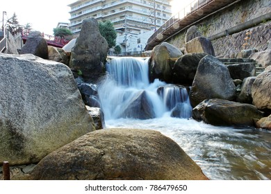 Little Falls in Arima Onsen, A nice little Hot Spring town in Kobe, Japan