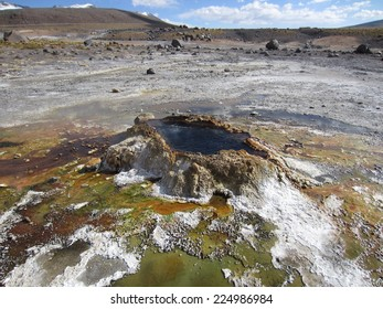 Little geyser at El Tatio