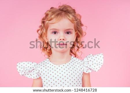 4c09900c236 Little Girl Beauty Queen Blue Eyes Stock Photo (Edit Now) 1248416728 ...