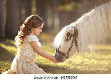 Blonde Pony Images Stock Photos Vectors Shutterstock