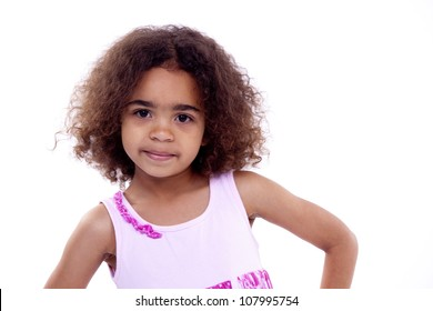 Little Girl Curly Hair Images Stock Photos Vectors