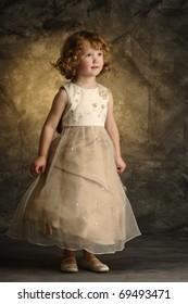 Little Girl in pretty dress