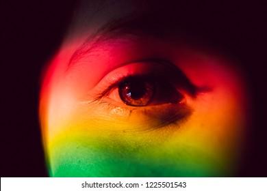 Little Girl Rainbow
