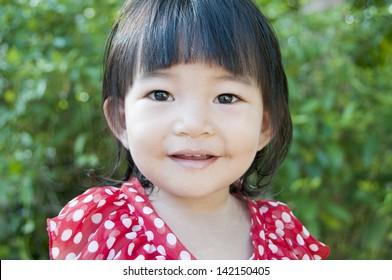 Little Girl Smiling