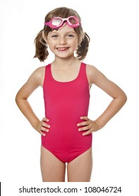 cheapest price lovely design comfortable feel Little Girls in Bathing Suits Images, Stock Photos & Vectors ...