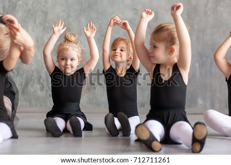 315d3629da4a Little Girls Ballerina Black Dresses Belk Stock Photo (Edit Now ...