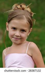 Little girls' portrait