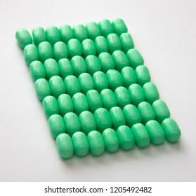 Little green pills