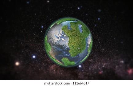 little green planet