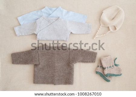 2c4c6efc3 Little Hand Made Baby Clothes Newborn Stock Photo (Edit Now ...