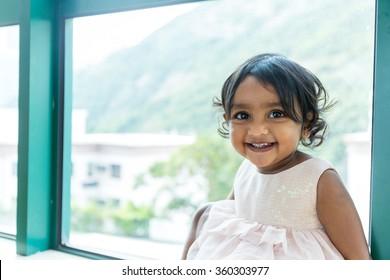 Little indian baby girl
