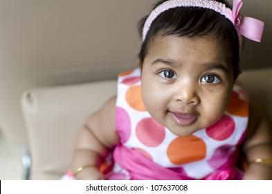 Indian Baby Girl Images Stock Photos Vectors Shutterstock