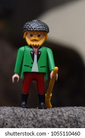 Little Irish or Scottish Toy Figurine