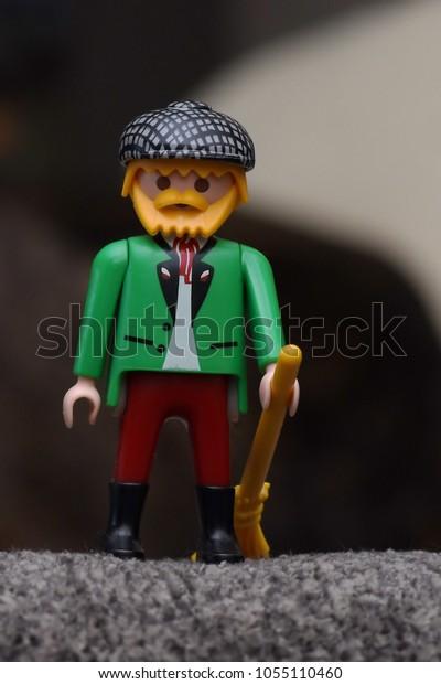 Little Irish or Scottish Toy Figurine