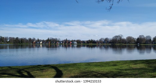 little lake of Peterborough ,Ontario ,Canada