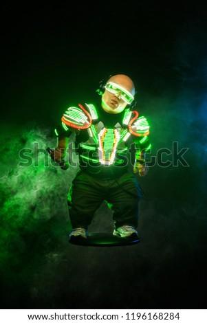 Little man dwarf Mysterious