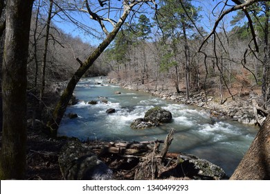 The Little Missouri River in Ouachita National Forest