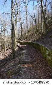 Little Missouri Trail in Ouachita National Forest Arkansas