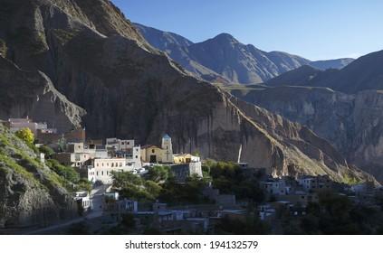 Little mountain town of Iruya in Salta, Argentina