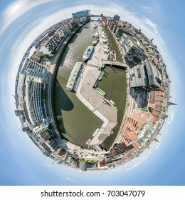 Little Planet of Hamburg Hafencity