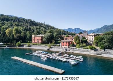 Little port of Lenno, lake of Como