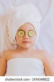 little  pretty girl, on spa
