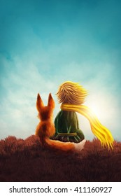 Little prince and the fox
