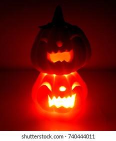 Little pumpkin in Halloween festival