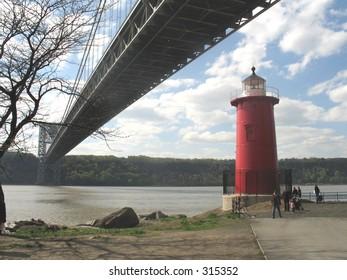 Little Red Lighthouse in manhattan