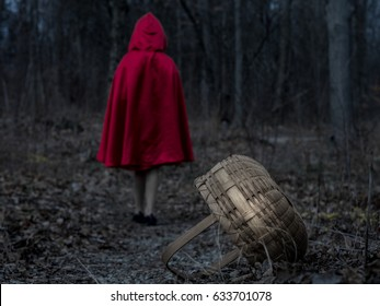 Little Red Riding Hood in the Dark