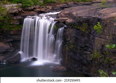 Little River Falls in north eastern Alabama.