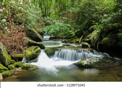 Little River Trail Tributary - Great Smoky Mountains National Park - Tennessee