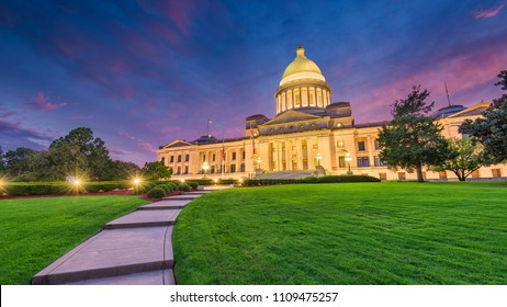 Little Rock, Arkansas, USA at the state capitol.