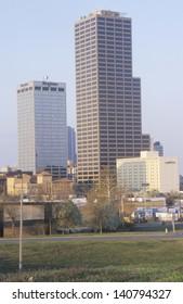 Little Rock skyline, Arkansas