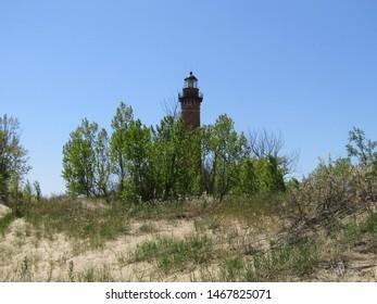 Little Sable Light House on Lake Michigan