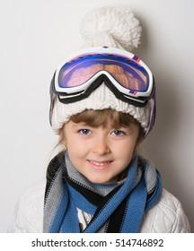 little ski athlete glasses
