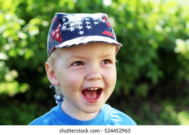 Little smiling boy