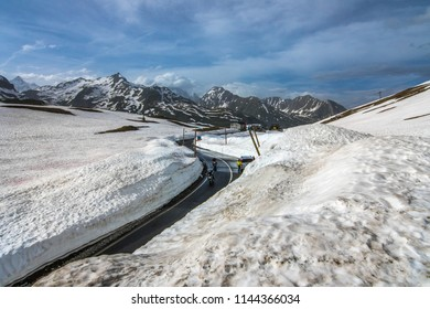 Little St. Bernard Pass June 2018