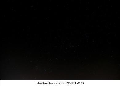 Little Star in the dark sky.